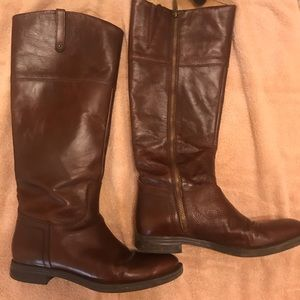 Brown Enzo Rider Boots
